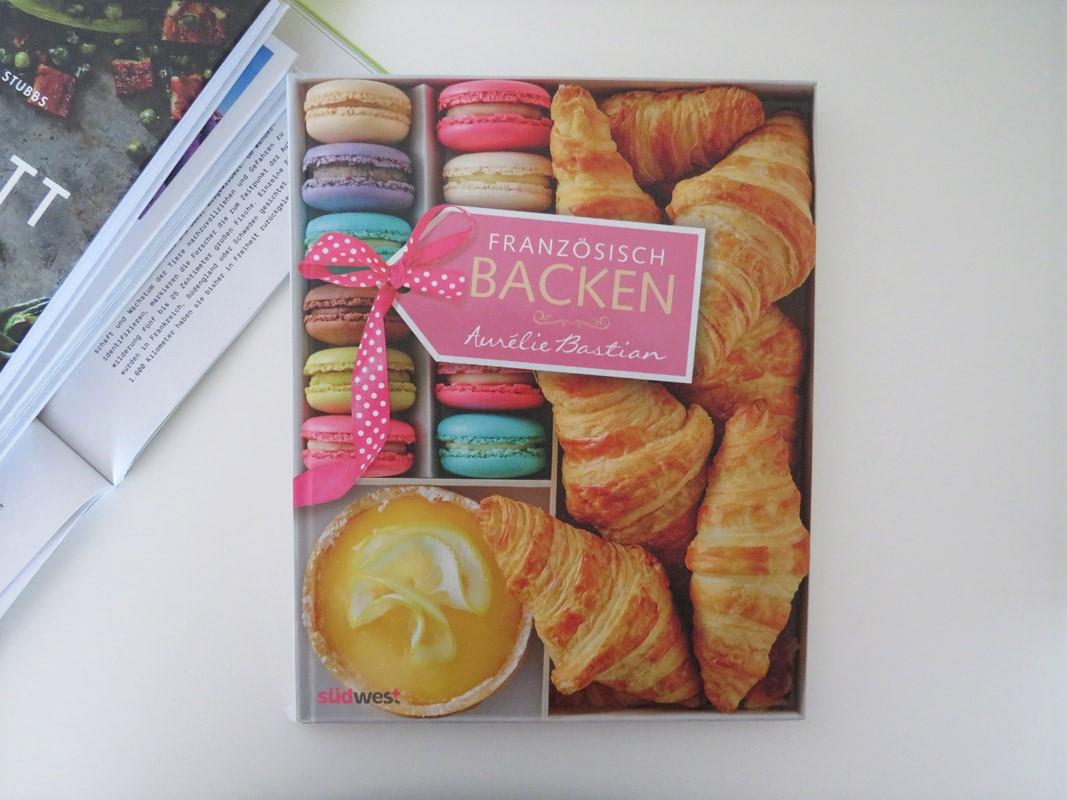 Aurelie Bastian Französisch Backen Südwest Verlag Cover Tintentick