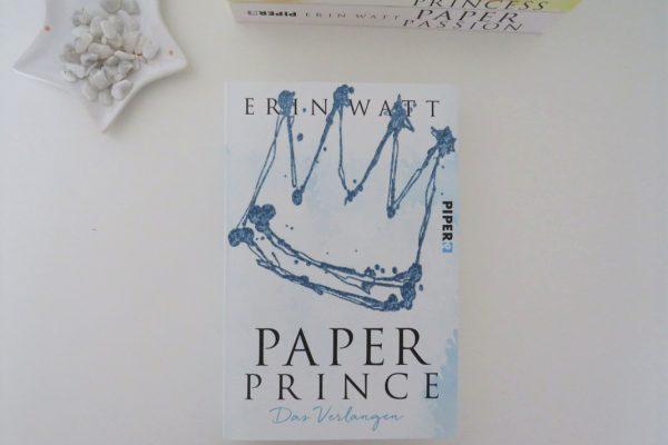 Paper Prince Erin Watt 2018 Piper Verlag Rezension Blog Tintentick Foto