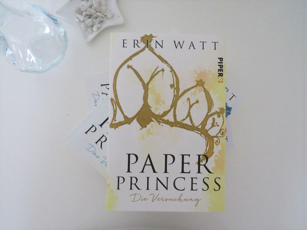 Paper Princess Erin Watt Piper Verlag Rezension Blog Tintentick Foto