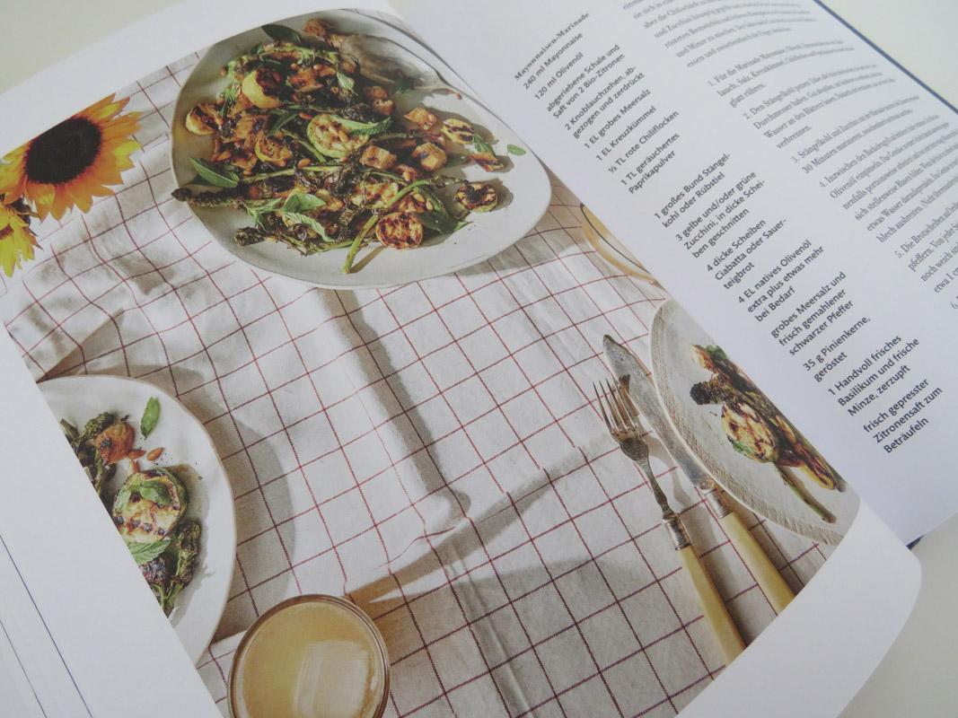 Salat Satt, Südwest Verlag, Einblick ins Buch