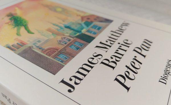 Peter Pan von J.M. Barrie im Diogenes Verlag 2018 - Foto von Tintentick